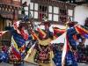 Wangdi Phodrang festival/Tsechu, Black Hat, Dancers