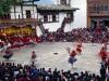 Wangdi Phodrang festival/Tsechu, Dancers, Wangdi Phodrang Dzong