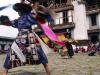 Gangtey Gompa, Festival, Tsechu, Black Hat Dancers