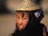 A girl in the costume of the Laya minority, Laya