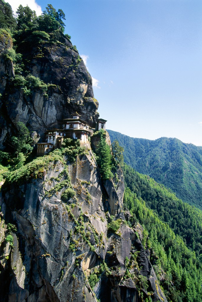 Taksang Monastery, The Tiger's Nest, Paro Valley